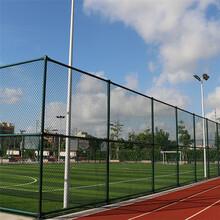 四川學校體育場圍欄網鐵絲網足球場勾花護欄網球場圍網圖片