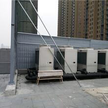 四川瀘州樓頂空調室外機冷卻塔降噪產品聲屏障隔音屏圖片