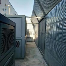 資陽中央空調室外機隔音屏生產廠家空調外機降噪聲屏障安裝圖片