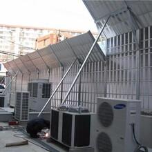 四川成都邛崍空調外機降噪隔音屏安裝空調主機冷卻塔隔音網聲屏障圖片