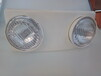 外贸应急灯双头灯IP40应急双头灯牛眼灯,照明3小时应急3W2以上过CE