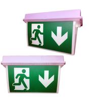 澳洲新西兰专用防水应急灯EXIT消防安全指示灯SAA/CE认证质保三年图片