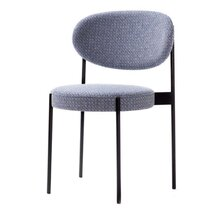 北欧时尚铁艺餐椅简约休闲椅子咖啡馆酒店餐厅金属单椅轻奢网红椅