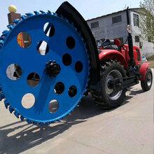 拖拉机硬土开沟机电缆线开沟机