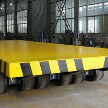 电子厂平板拖车机械厂设备运输车