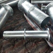热镀锌法兰钢管双法兰镀锌钢管镀锌无缝钢管图片