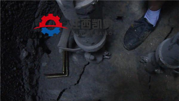 液壓劈裂棒多少錢臺東挖掘機液壓劈裂機石料廠適合嗎