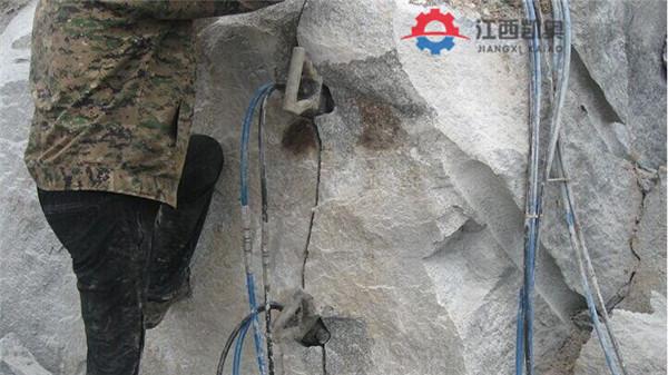 大型劈裂棒靜安液壓劈裂棒靜態爆破挖豎井