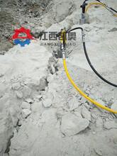 宿迁岩石矿山劈裂机单价分析表图片
