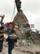 呼倫貝爾劈力機防爆分裂機的施工