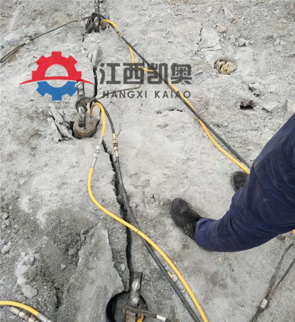 三明裂劈机开山劈石器金矿开采开硬石头设备隧道裂爆机