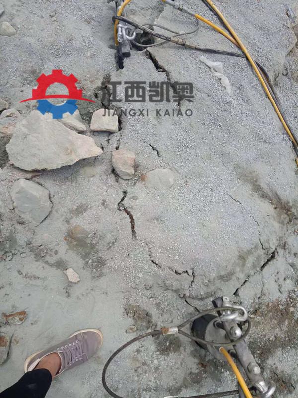 劈裂棒液压分裂机破碎锤劈裂机凿岩机载岩裂机佛山