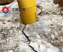 汉中建筑石材开采静态爆破优质岩石劈裂机