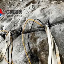 锦州液压劈裂机青石不能爆破开采劈裂机厂家图片