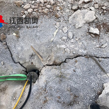广安劈裂机撑裂岩石大型液压劈裂机报价图片