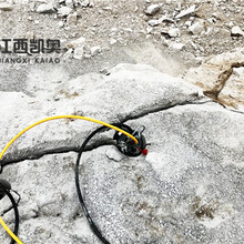 乐山劈裂机开挖坚石路基扩建大型劈裂机图片