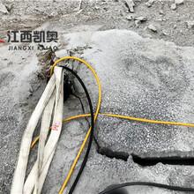 劈裂棒混凝土拆除株洲岩石劈裂机厂商图片