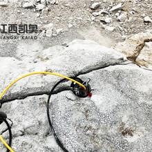 江西鹰潭快速胀开石头劈裂机图片