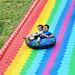 亲子七彩滑道色彩斑斓的多彩滑道场地规划设计