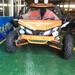 冰雪游乐设备欢声笑语中的雪地卡丁车大马力越野卡丁车