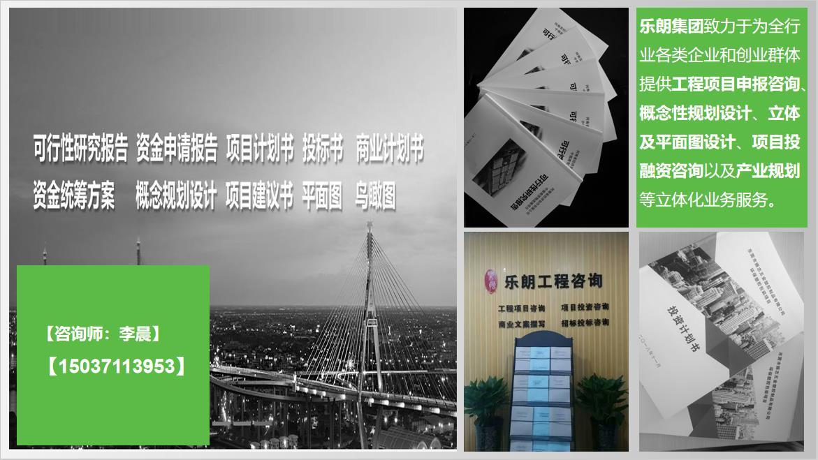 山東省可行性報告做報告山東省的公司