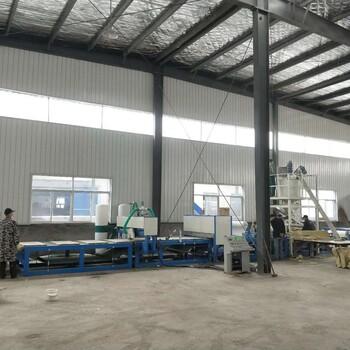 宁波自动计量砂浆岩棉复合板生产线机制双麻面岩棉复合板生产线规格齐全