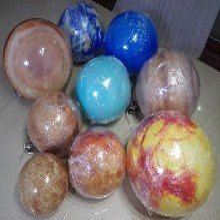 厂家定制亚克力八大星球模型金木水火土九大星球灯圆球吊灯图片