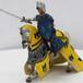 厂家直供鞍马标本家居工艺品仿真马玩具战士礼品