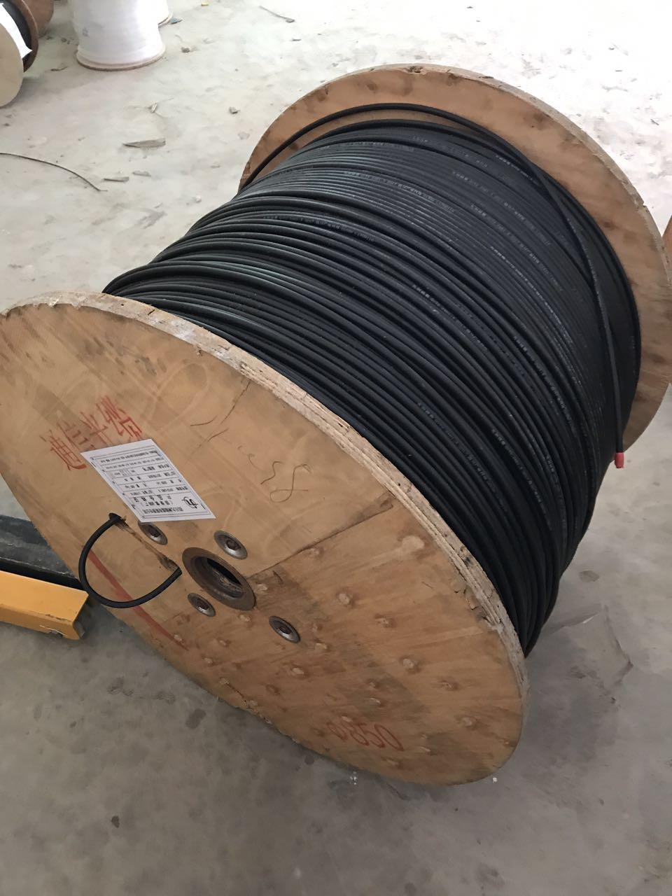 上门回收阿坝工程剩余光纤材料高价回收架空光缆