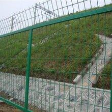 綠色爬坡護欄網生產廠家山地園林圍欄網圈地養殖鐵絲網