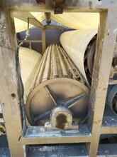 求购带式压滤机胶辊不锈钢滚轮带机胶辊图片