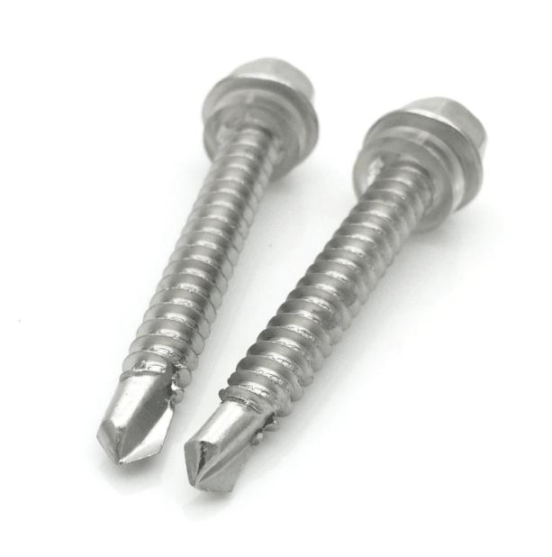 供应410不锈钢钻尾螺丝/外六角自钻螺丝/燕尾自钻螺栓