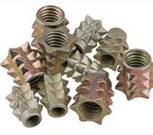 标准件家具螺母刺母尖刺螺母家具链接螺母(锌合金)