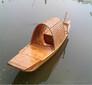 广西画舫船厂家威尼斯尖舟贡多拉船威尼斯贡多拉餐饮木船图片