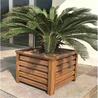 户外铁艺花箱树池树围座凳座椅树槽花槽木花盆铝合金花槽