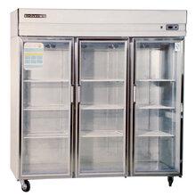 武汉哪?#26032;?#22235;门冷藏柜的冷藏柜操作台图片