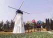 山東大型展覽道具廠家,荷蘭風車埃菲爾鐵塔恐龍展