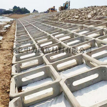 平铺护坡箱式生态框格混凝土生态砌块图片