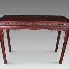 红木条桌鉴定价格和图片