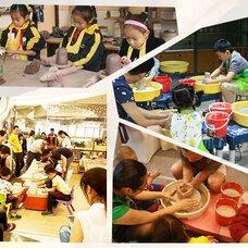 陶艺制作,陶艺加盟,diy项目,陶艺馆创业