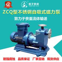 ZCQ型不銹鋼自吸式磁力泵無泄漏磁力泵耐腐蝕自吸泵圖片