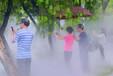 香港园林景观喷雾系统