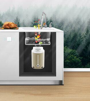 廚余垃圾處理器六級研磨適用大家庭的食物垃圾處理