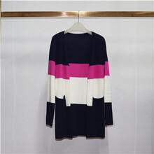 18款秋季新品中長款氣質修身圓領針織T恤衫寬松短袖女士上衣圖片