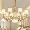 成都欧式客厅吊灯后现代简约水晶吊灯奢华简欧温馨酒店客厅卧室吊灯具