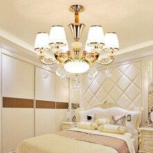 奢华欧式吊灯客厅水晶灯大气简欧餐厅灯卧室灯图片