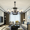 卧室灯简约现代风格创意餐厅灯北欧灯具客厅灯个性艺术萤火虫吊灯