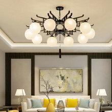 新中式小吊灯餐厅吊灯单头现代灯具禅意灯创意吊灯简约个性中国风图片