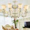 简欧客厅吊灯图片,吊灯价格欧式玉石水晶灯现代简约锌合金餐厅卧室大气家用灯具