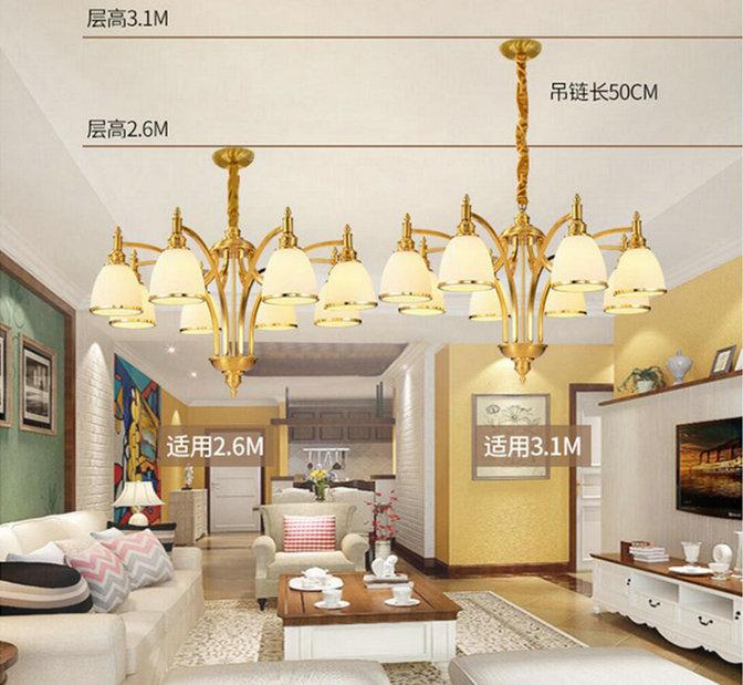 中国风客厅用什么灯比较好吸顶吊灯